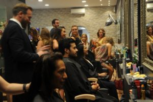L'Oréal – La nuit de la coiffure 2017 au salon The Cutting Shop