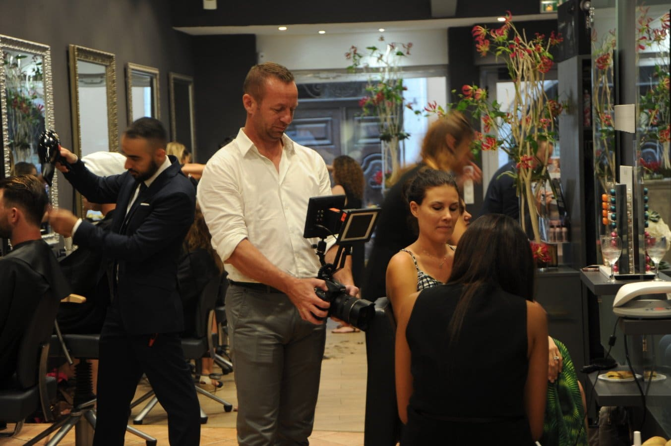 L Oreal La Nuit De La Coiffure 2017 At The Cutting Shop The